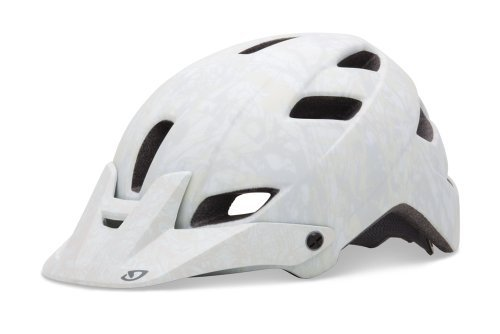 Giro Feature Cycling Helmet (Matte White/Gray Evil, Large)