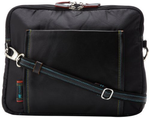MyWalit 1518-4 Laptop Bag,Black Pace,One Size