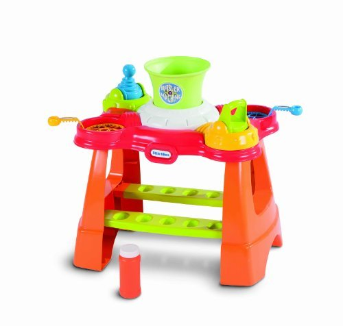 Little Tikes Bubble Machine The price is $29.99.