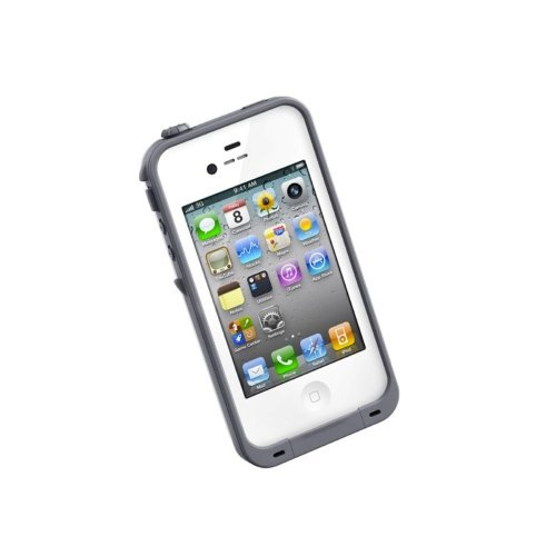 LifeProof Case for iPhone 4/4S- Retail Packaging - White/Grey The price is $41.99.