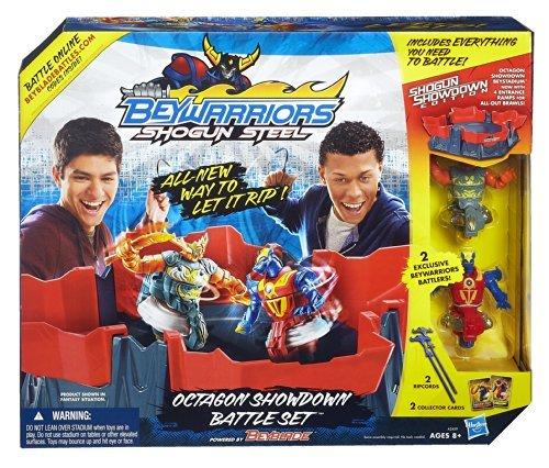 Hasbro A2459 Beyblade Shogun Steel Octagon Showdown Battle Set The price is $24.99.
