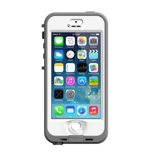 Lifeproof nuud Series Case for iPhone 5S - White/Clear The price is $69.99.