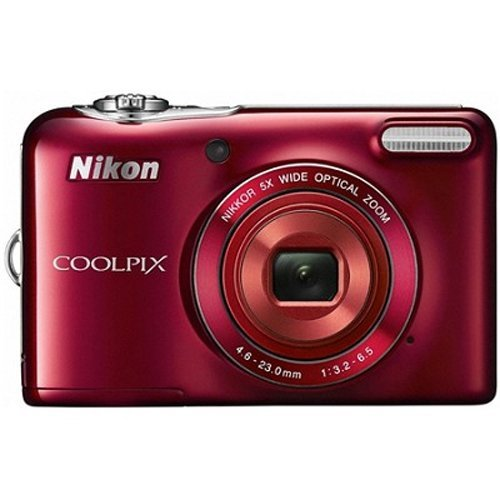 Nikon COOLPIX L30 20.1 MP Digital Camera with 5x Zoom NIKKOR Lens and 720p HD Video (Red) The price is $59.99.