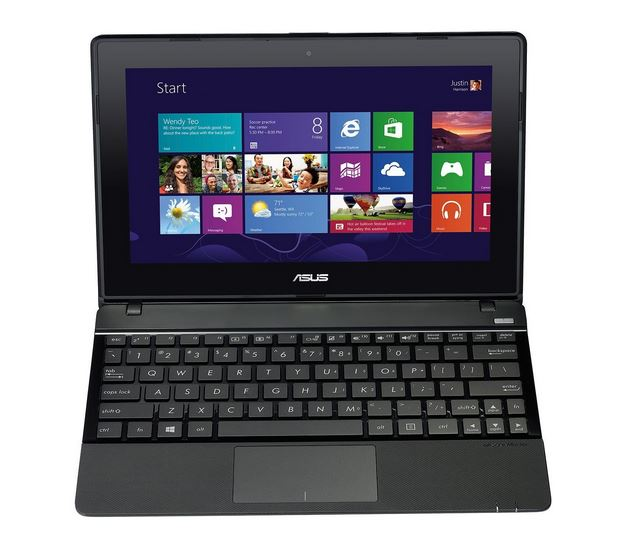 ASUS X102BA-BH41T 10.1' Touchscreen Laptop (A4-1200 CPU, 2GB RAM, 320GB HDD) - Blue The price is $229.99.