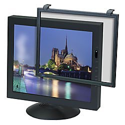 "3M Putty Color Framed Anti-Glare Filter for Standard LCD/CRT Desktop Monitor fits 19"" - 20"" LCDs and"