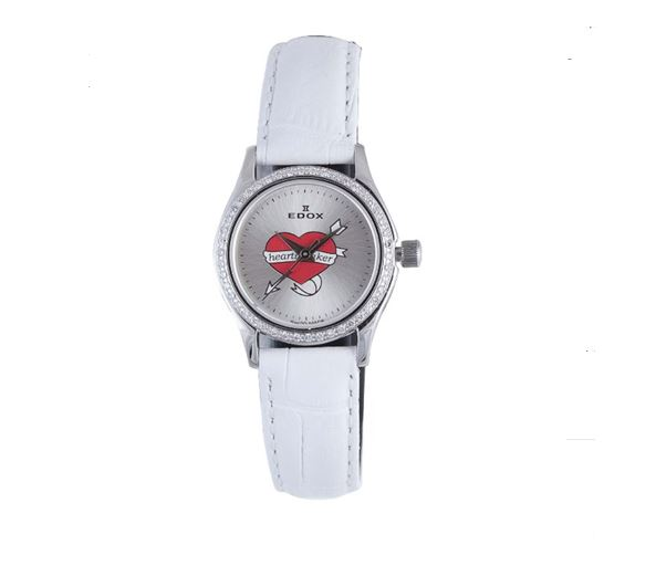 Edox Women's 31158 317D A Les Genevez Silver Dial White The price is $819.99.