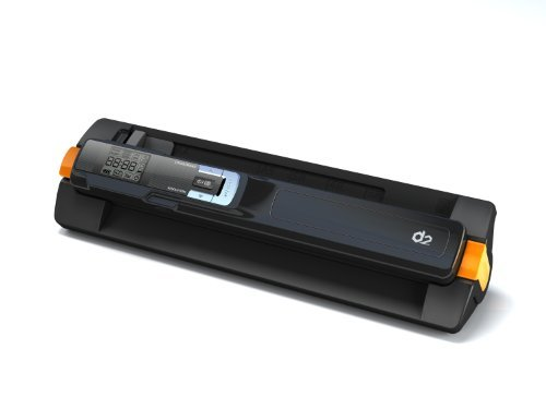 D2Pad Portable High Speed Scanner with Docking Station, Blue (DS401D_BK) The price is $69.99 - $79.99.