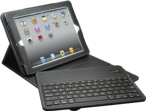 Aduro FACIO Case with Bluetooth Removable Keyboard for Apple iPad 2 / 3 & 4 Generation (Black) The price is $19.99 - $24.99.