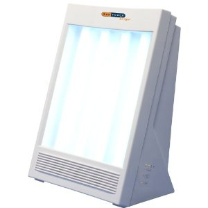 NatureBright SunTouch Plus Light and Ion Therapy Lamp The price is $64.99 - $74.99.
