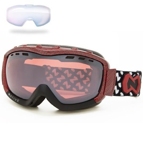 Native Eyewear Kicker Polarized Goggle (Chrome Reflex, Charcoal) The price is $96.99.