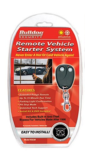 Bulldog Security RS83B Remote Starter with Built-in Bypass Module The price is $43.99.