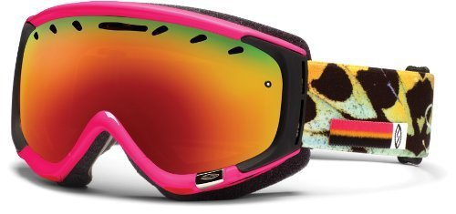 Smith Optics Phase Goggle (Shocking Pink Migration Frame, Red Sol X Mirror Lens) The price is $68.99.