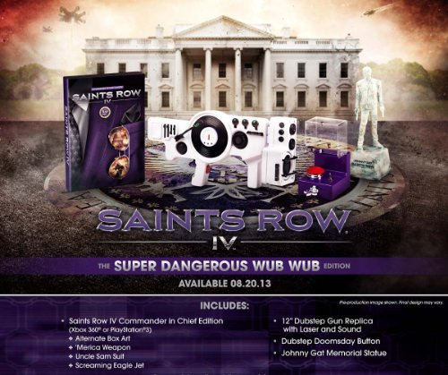 Saints Row IV - Super Dangerous Wub Wub Edition -microsoft xbox 360 The price is $44.99.